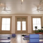 The Spacious Studio at Good Commons is Perfect for Yoga Classes